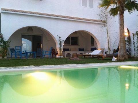 Villa momo hammamet sud courte duree clickdar agence immobiliere hamma - Duree vente immobiliere ...